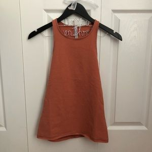 Free People Tops - SOLD NWT Free People Small Peach Canyon Tank